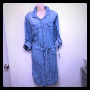 Womens Denim Dress